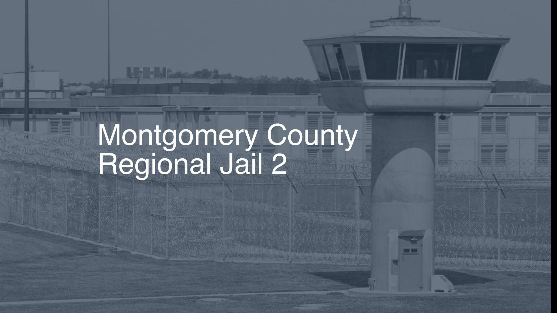 Montgomery County Regional Jail Inmate Search, Lookup