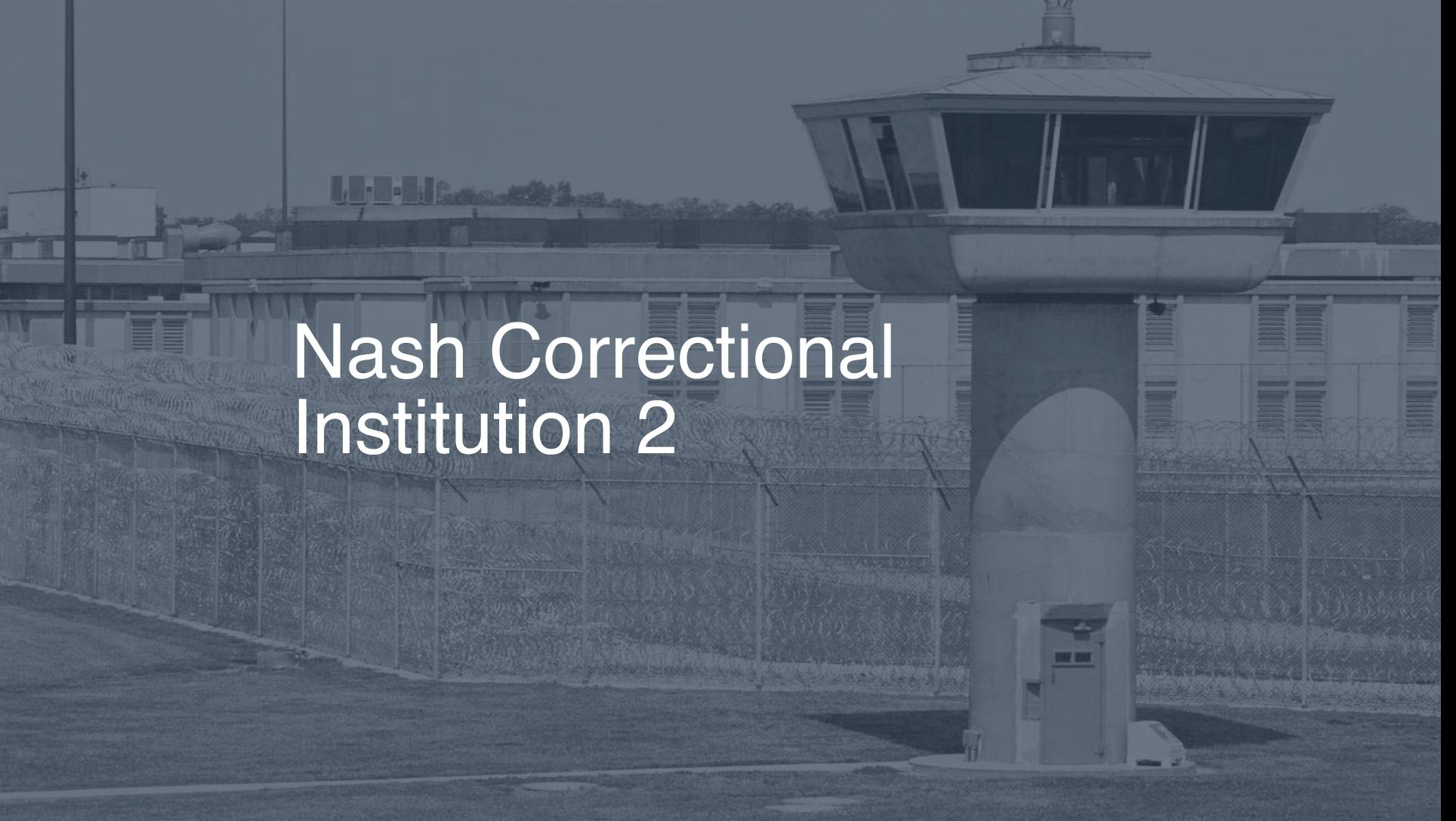 Nash Correctional Institution correctional facility picture