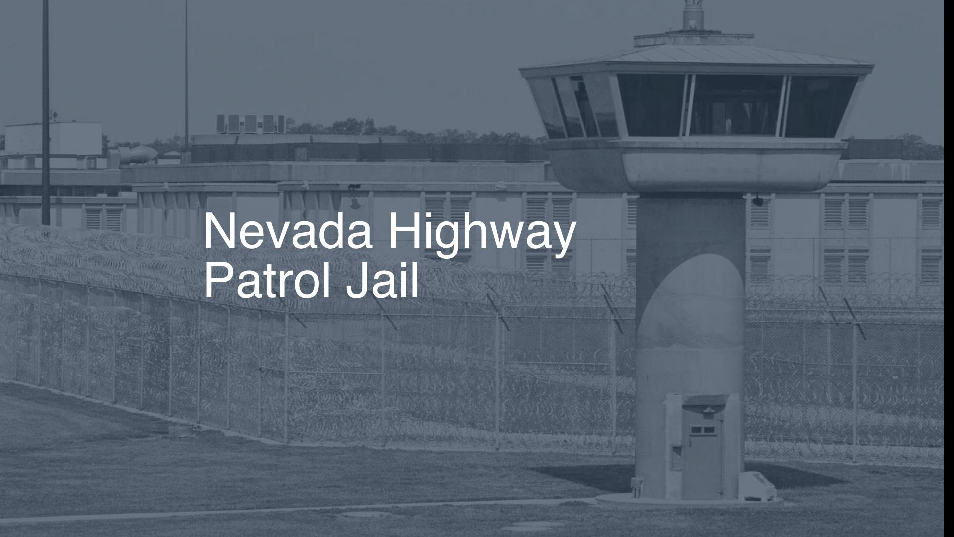 Nevada Highway Patrol Jail correctional facility picture