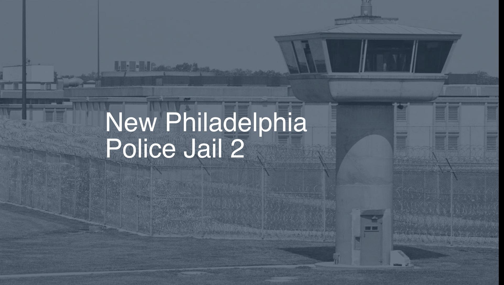 New Philadelphia Police Jail correctional facility picture