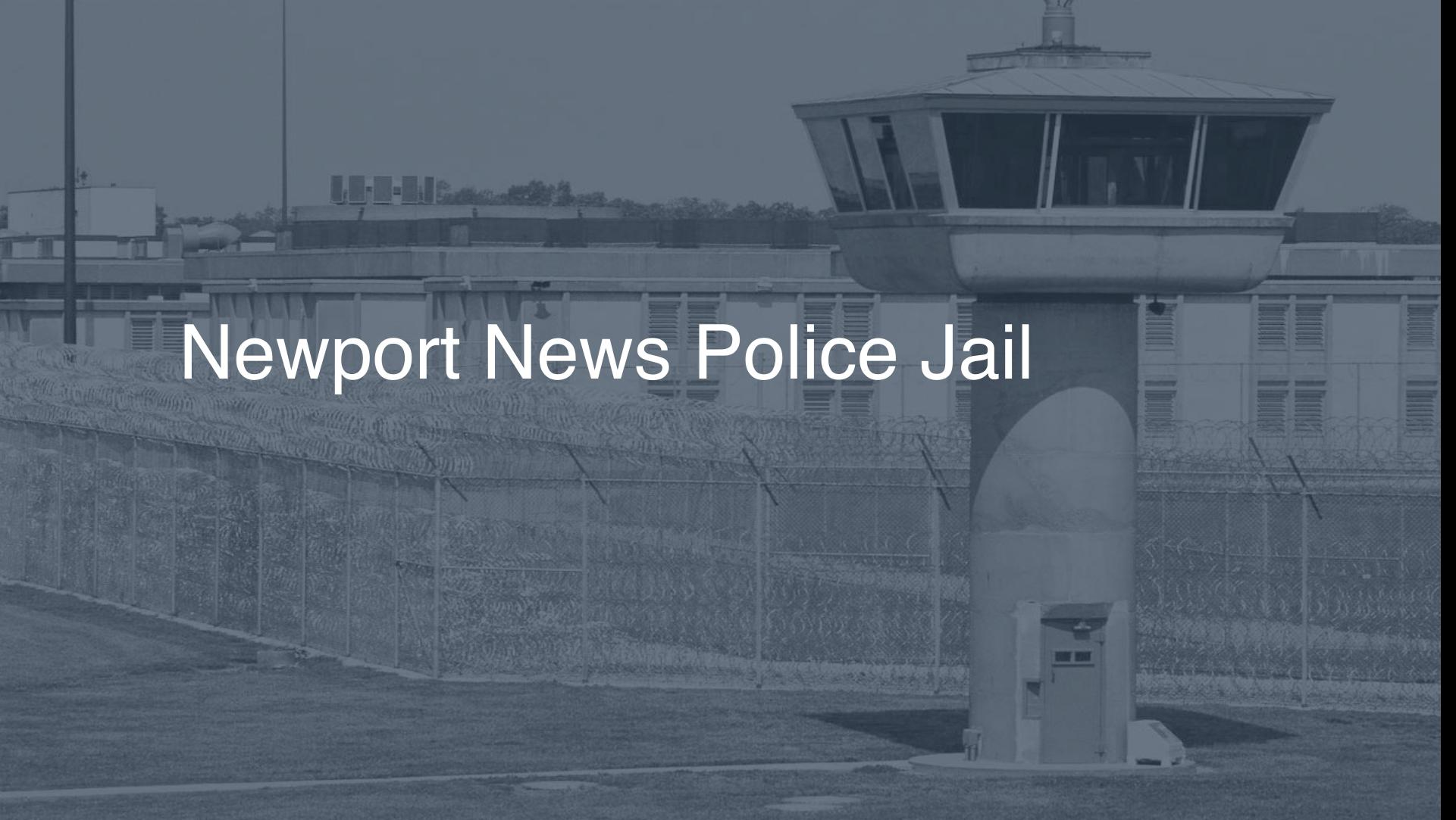 Newport News Police Jail correctional facility picture