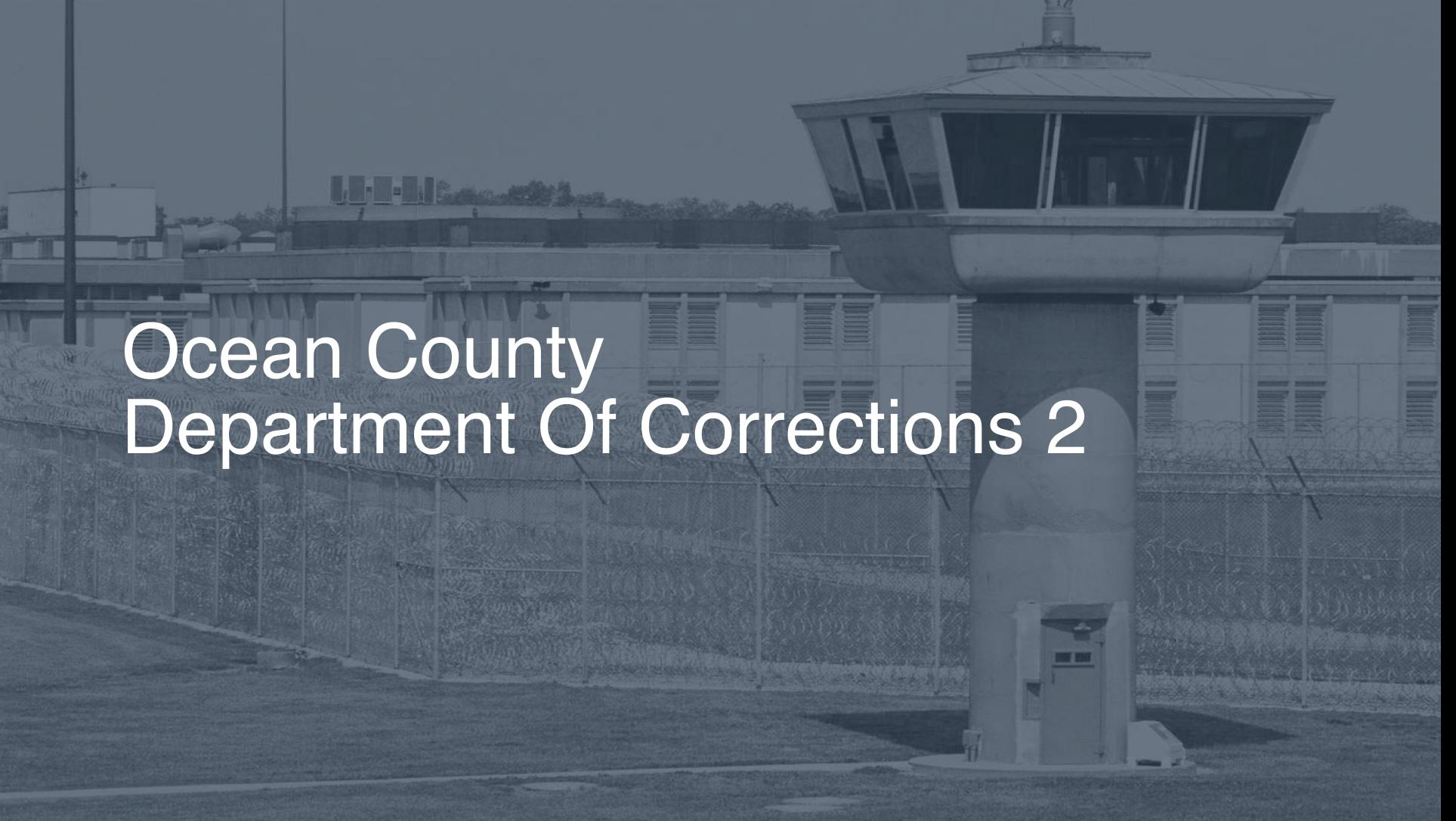Ocean County Department of Corrections | Pigeonly - Inmate