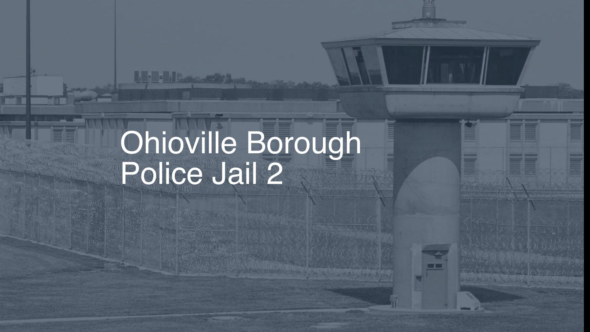 Ohioville Borough Police Jail correctional facility picture