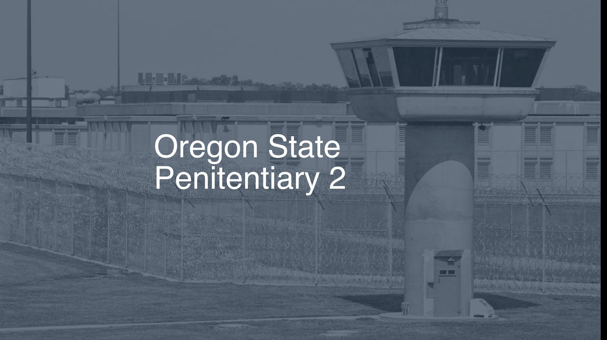 Oregon State Penitentiary correctional facility picture