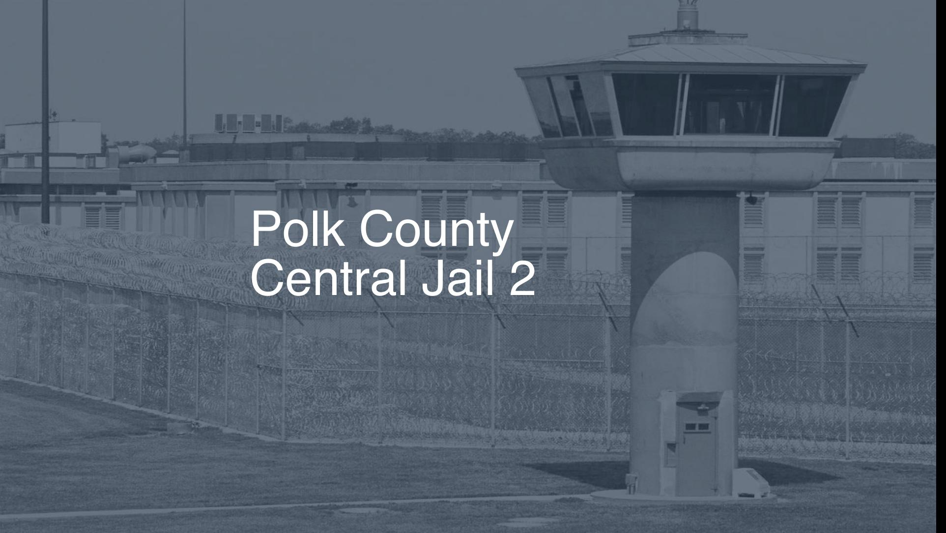 Polk County Central Jail correctional facility picture