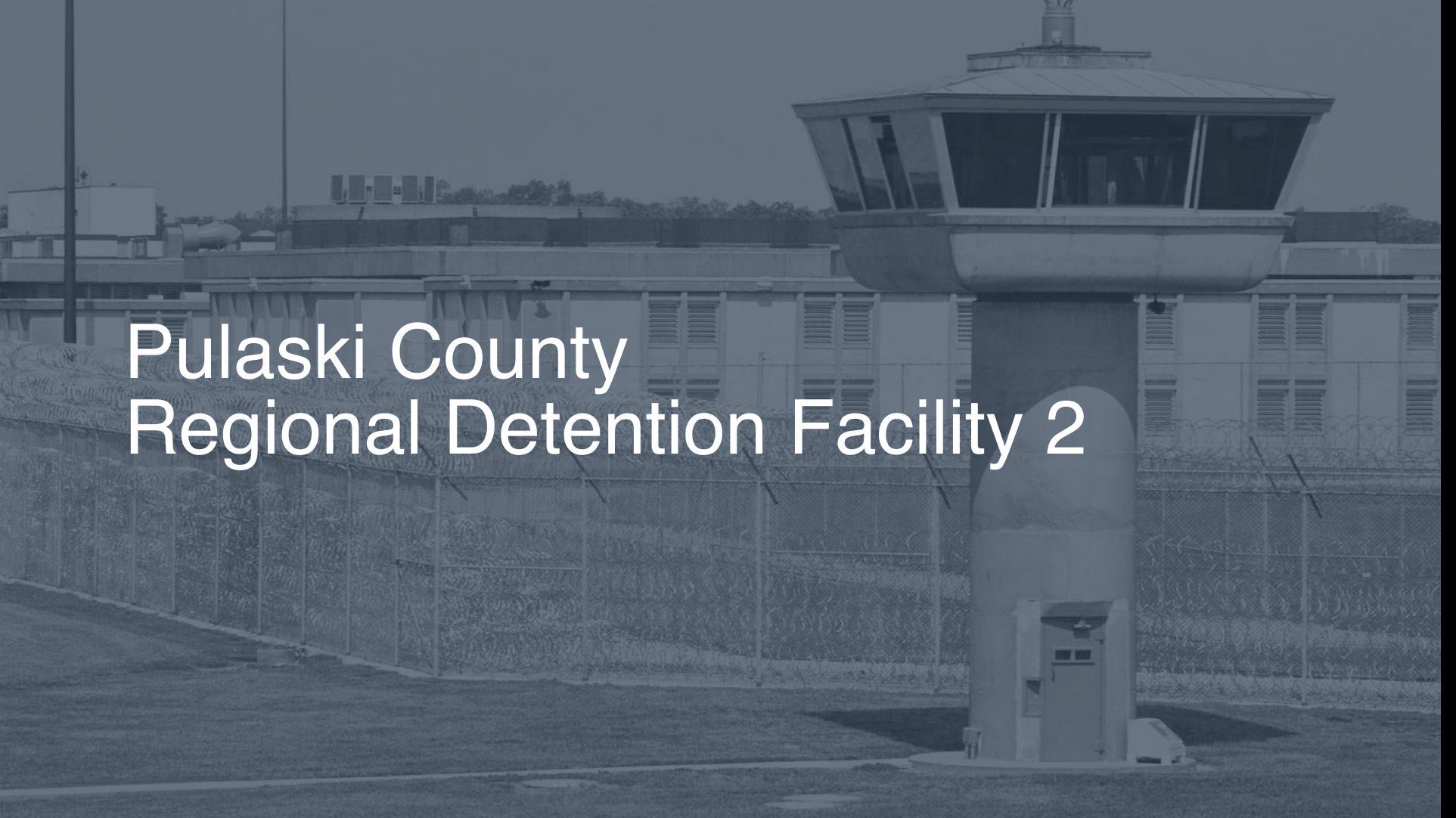 Pulaski County Regional Detention Facility   Pigeonly