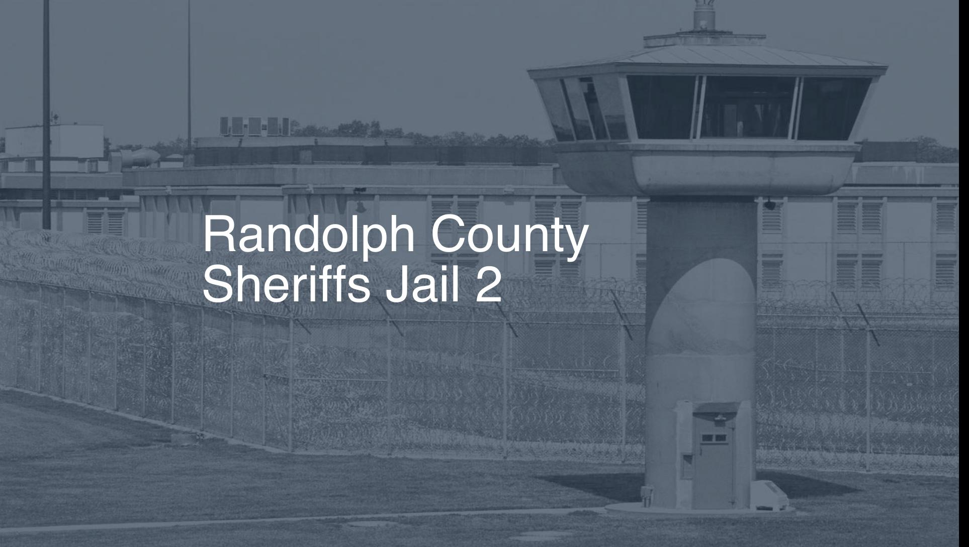 Randolph County Sheriff's Jail (2019) | Inmate Search