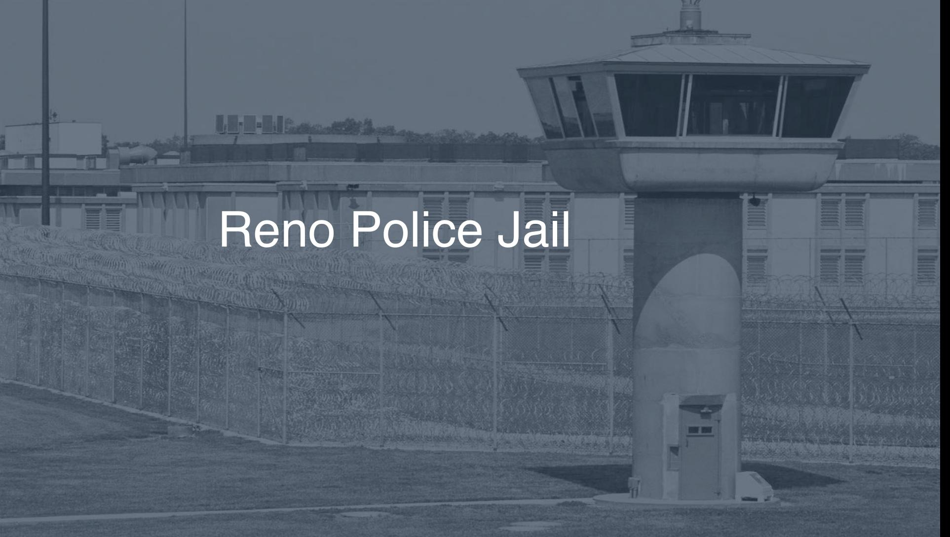 Reno Police Jail correctional facility picture