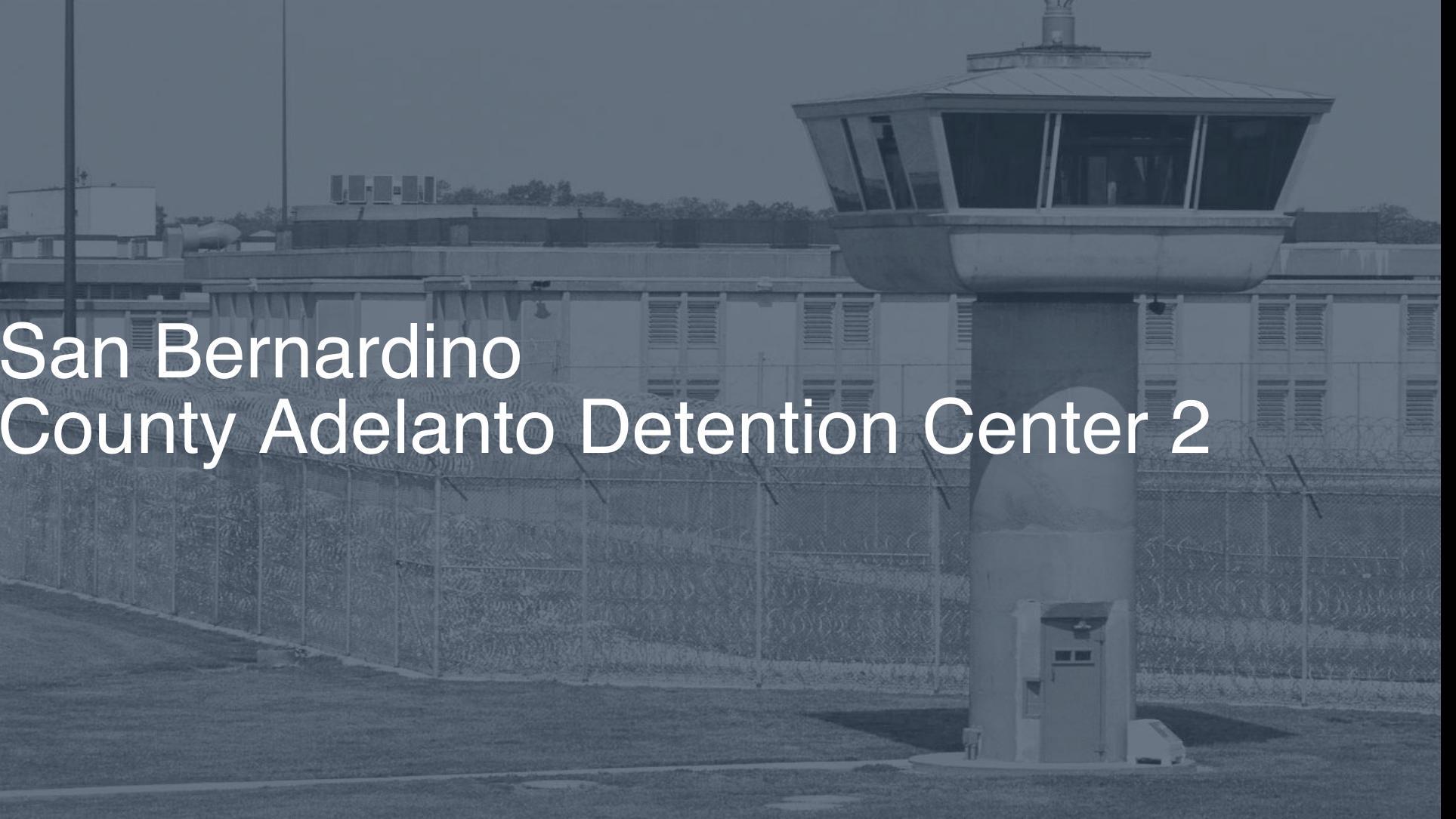 San Bernardino County - Adelanto Detention Center correctional facility picture