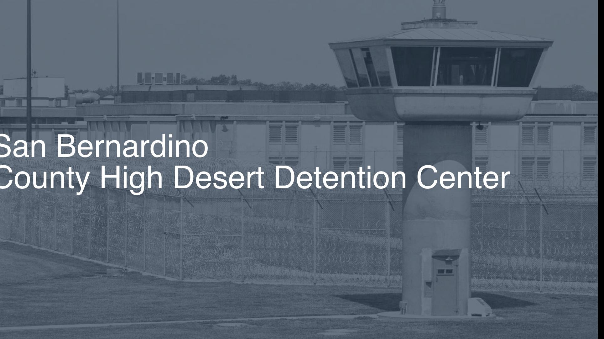 San Bernardino County - High Desert Detention Center correctional facility picture