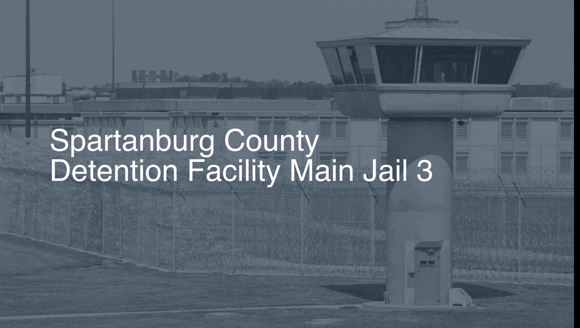 Spartanburg County Detention Facility – Main Jail | Pigeonly