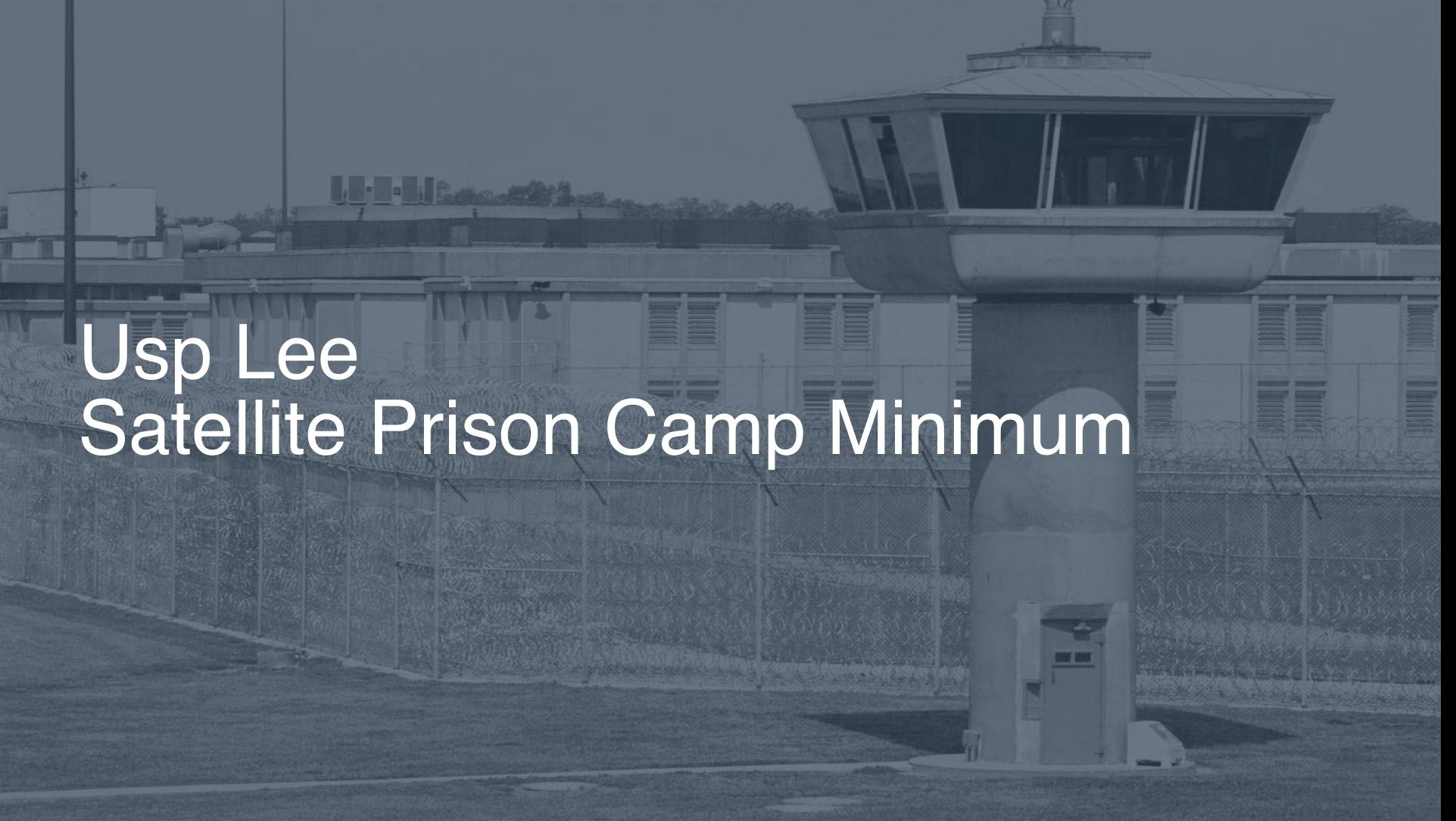 USP - Lee Satellite Prison Camp - Minimum correctional facility picture