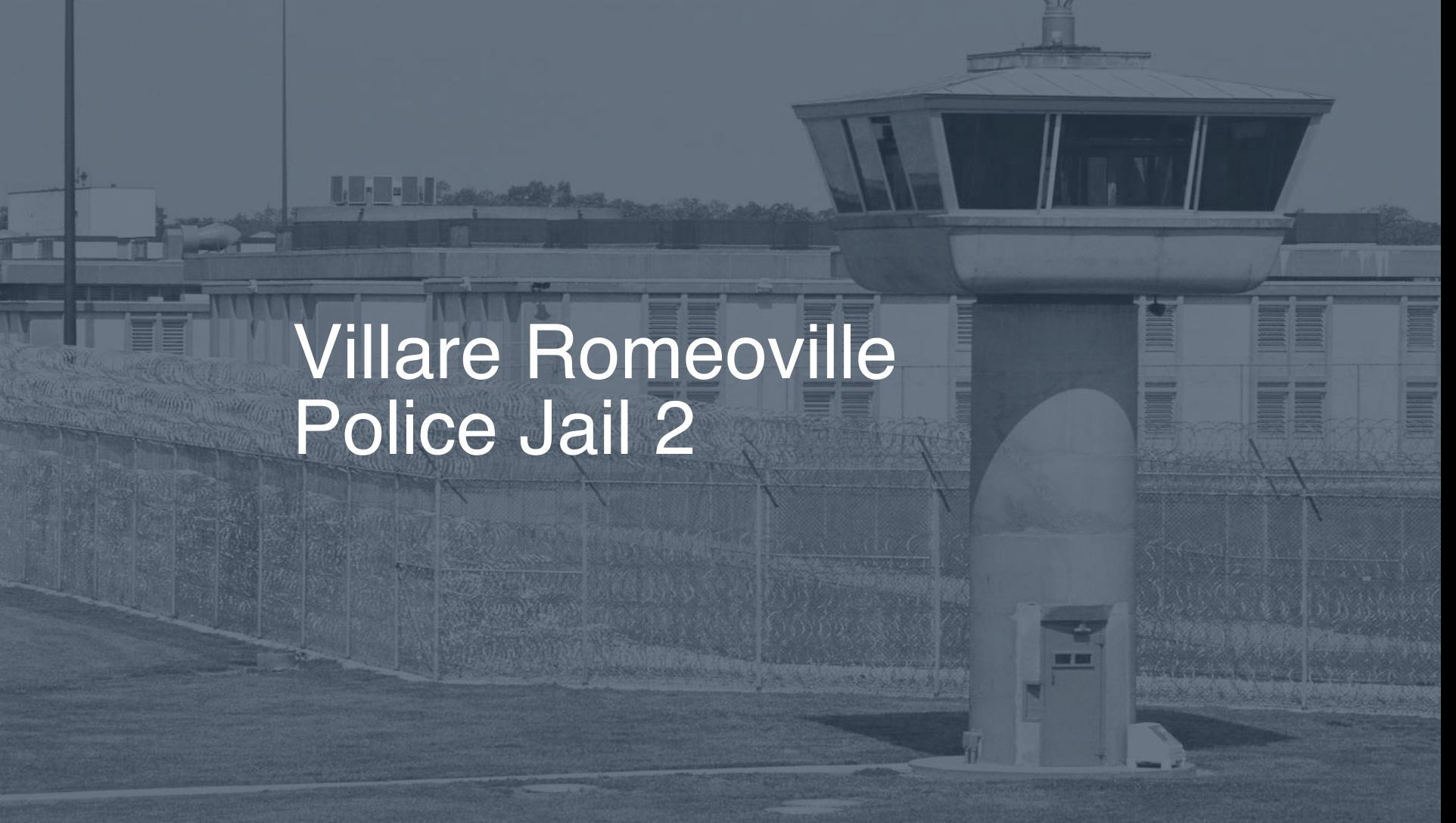 Villare Romeoville Police Jail correctional facility picture