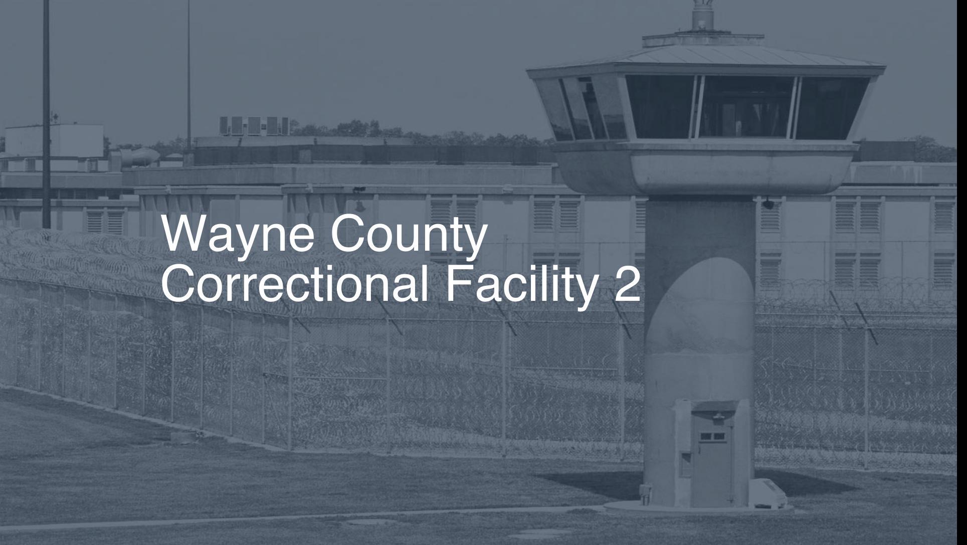 Wayne County Correctional Facility Inmate Search, Lookup