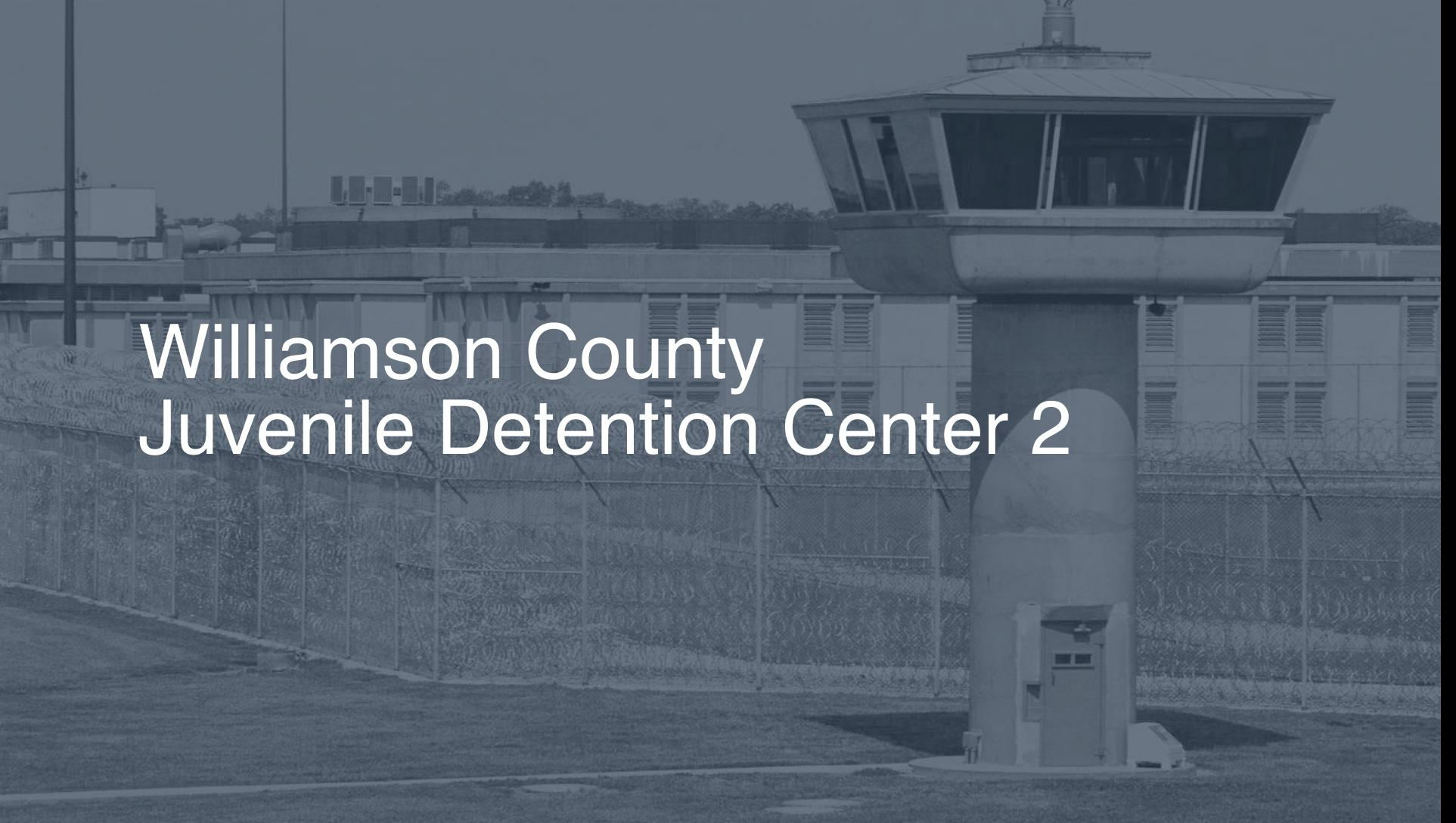 Williamson County Juvenile Detention Center   Pigeonly