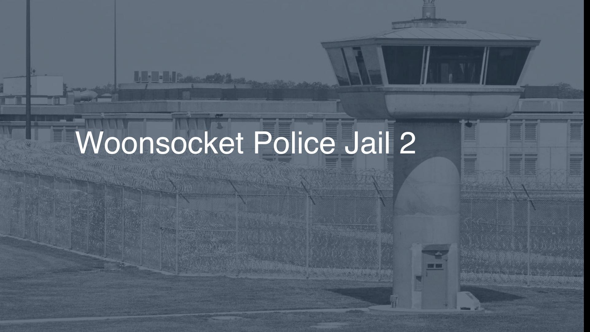 Woonsocket Police Jail correctional facility picture