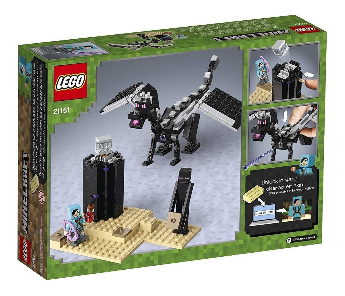 11 Lego Minecraft - A Batalha Final  Facily