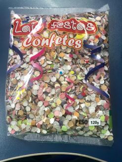 Confetes 120g