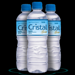 Agua mineral cristal gold 510 ml