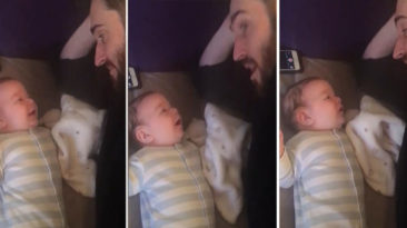Baby Girl Has The Best Reaction When Her Dad Begins To Play