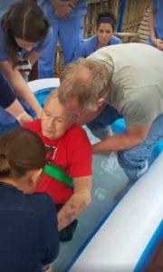 Dale Hodson baptism