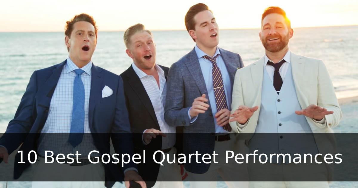 Best Gospel Quartets