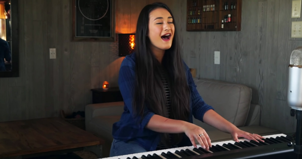 melody joy sings great are you Lord