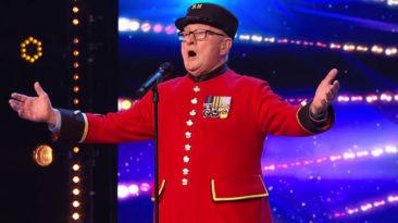 veteran sings for late wife bgt 2019