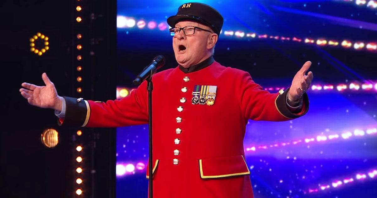 veteran sings for late wife bgt 2019