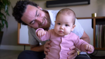Adorable Baby's Reactions To Dad Singing Will Bring Smile On