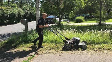officer-mow-lawn