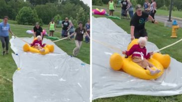 slip-and-slide