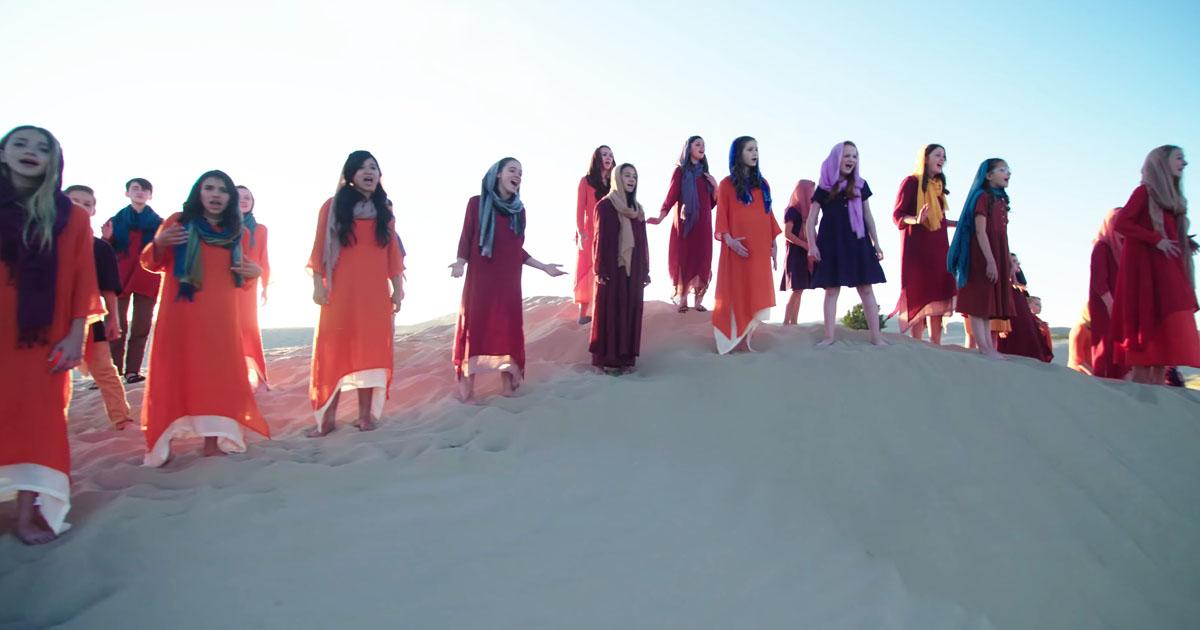 Rise Up Children's Choir Speechless