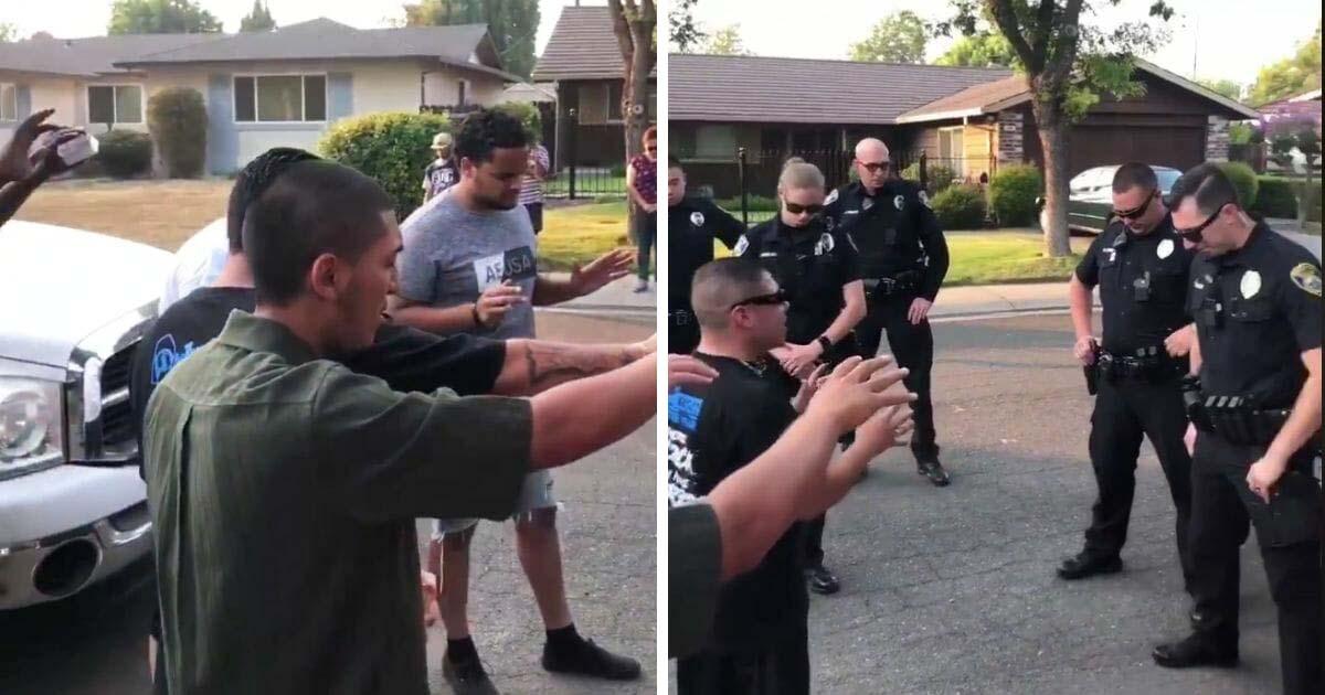 gang-members-prays-with-police