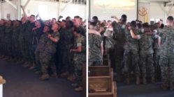 military-worship