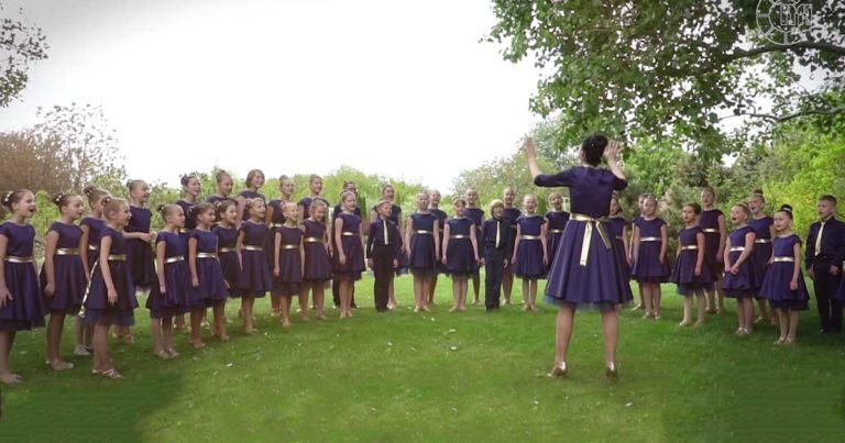Color Music Choir Sings You Raise Me Up