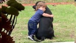 toddler-hug-dog