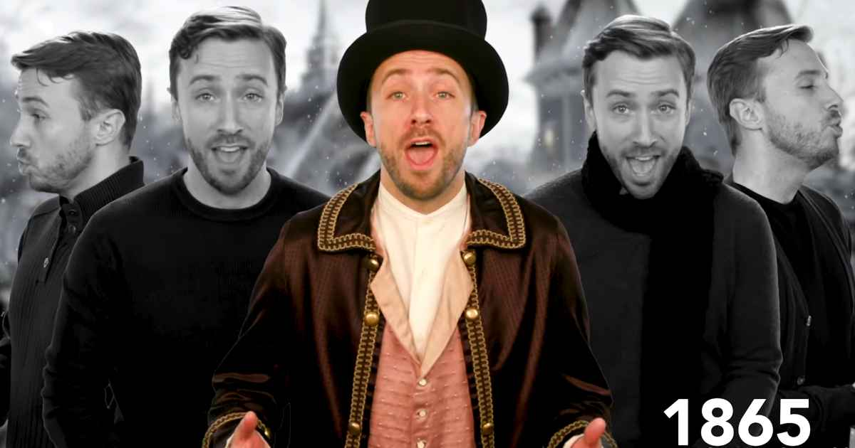 Evolution of Christmas songs Peter Hollens