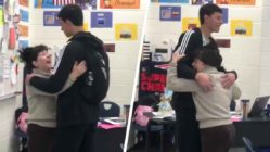 student-surprises-teacher