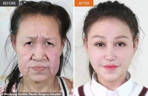 Girl looks like old Xiao Feng