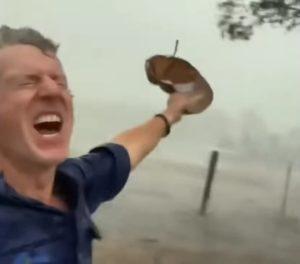 Doctor-enjoys-rain-Australian-fires-2