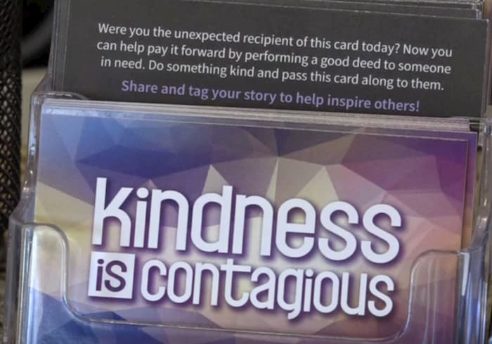 KindnessIsContagious