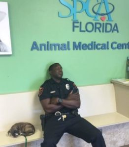 exausted-police-officer-and-stray-puppy-2
