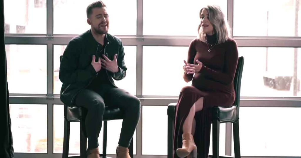 Christian Couple Sing Beautiful Duet Build My Life By Pat