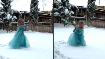 little-girl-elsa-in-the-snow