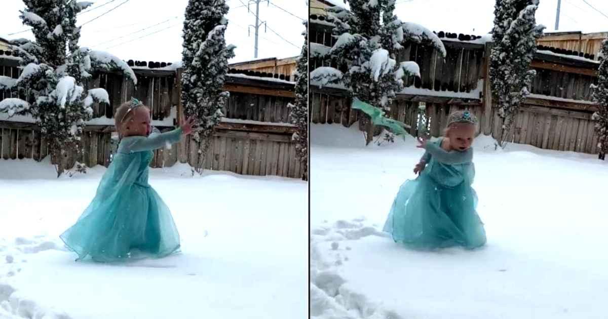 little-girl-elsa-in-the-snow