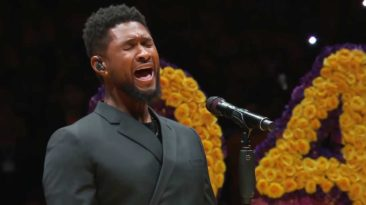 usher amazing grace