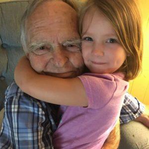 little-girl-befriends-elderly-man-in-grocery-store