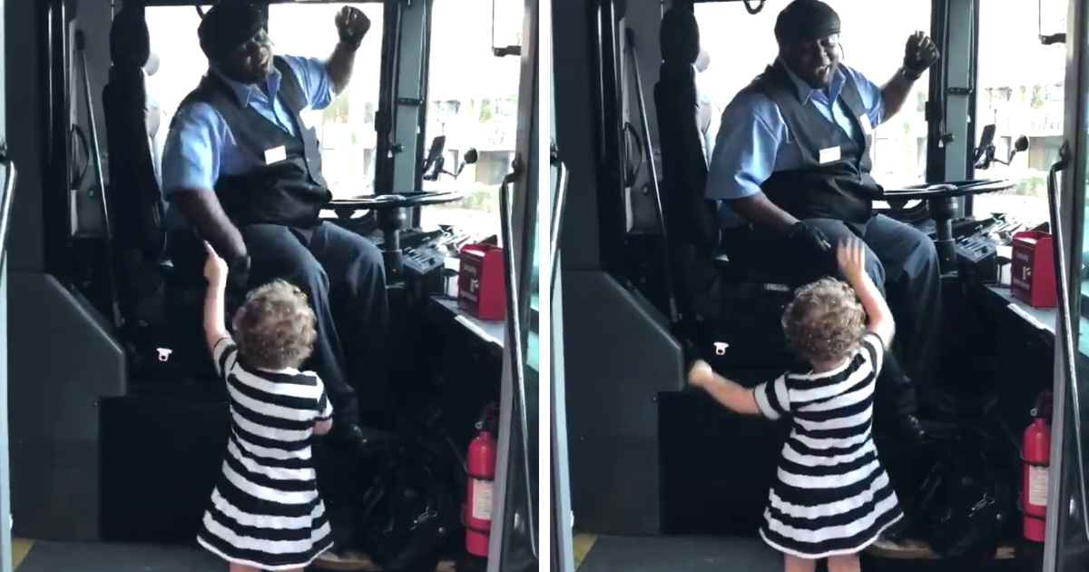 bus-driver-dance-with-little-girl