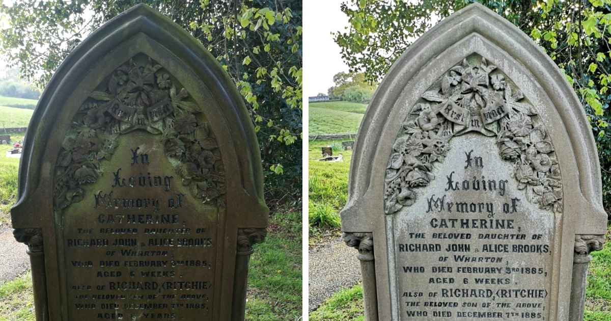 family-clean-gravestones